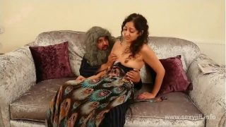 y. daughter blackmailed, m., fingered and f. to suck grand dad's cock POV Indian